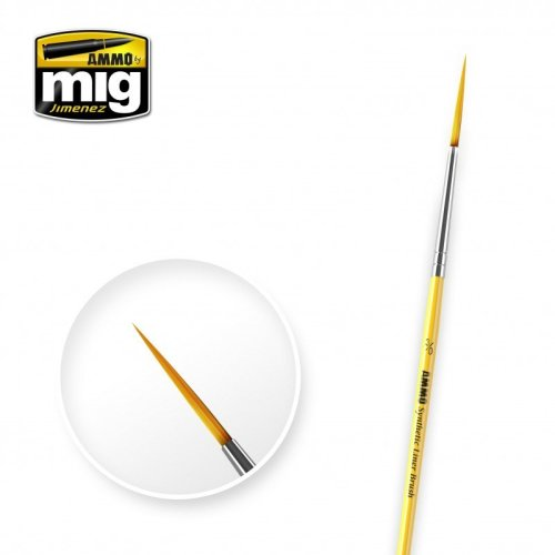 Ammo by Mig - Synthetic Liner Brush Size 3/0
