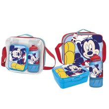 Disney Childrens/Kids Mickey Mouse Lunch Bag Set