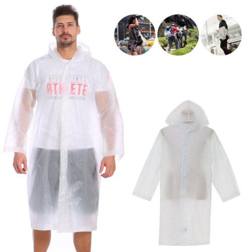 Men Women Raincoat Windproof Waterproof Plastic Adult Camping Poncho Reusable