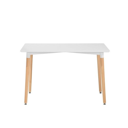 Dining Table 120 x 80 cm White FLY