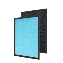 Activated Carbon Filter Replacement Filter (Size 36x26x2.2 Cm) - Black