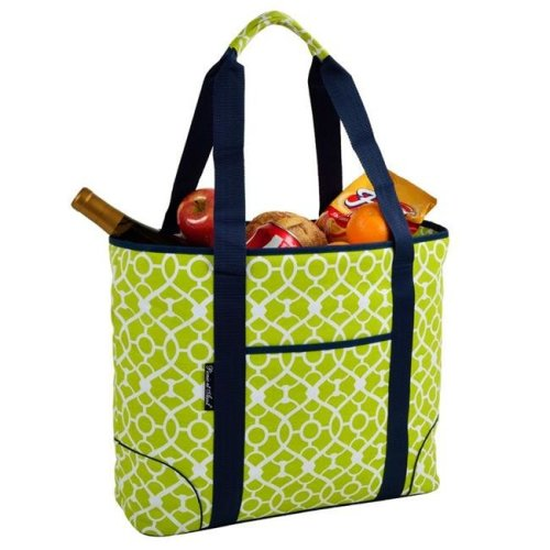 Trellis Green Extra Large Insulated Tote - Trellis Green