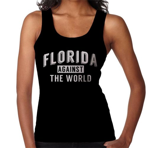 Florida Against The World Angsty Slogan Women's Vest