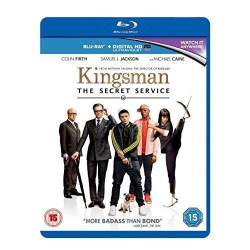 Kingsman - The Secret Service Blu-Ray [2015] - Used