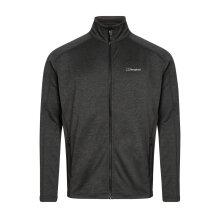 Berghaus Men's Spitzer Full Zip Fleece - Black/Dark Grey