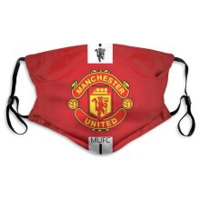Manchester United Football Team Face Masks for Adult Youth Reusable