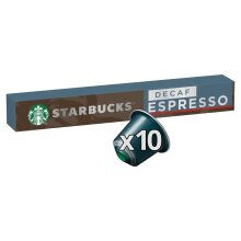 STARBUCKS by NESPRESSO Decaf Espresso Roast Coffee Pods