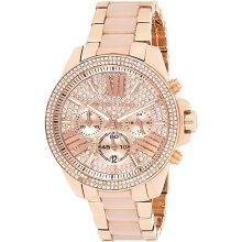 Michael Kors Wren Crystal Ladies Watch MK6096 New with Tags