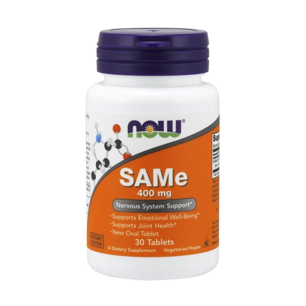 NOW Foods SAMe, 400mg , 30 tablets