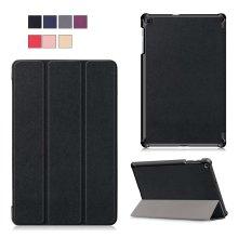"""Samsung Galaxy Tab A (2019) 10.1"""" Tri-Fold Shockproof Leather Case"""