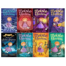 Holly Webb Maisie Hitchins Series 8 Books Collection Set Fiction Pack NEW