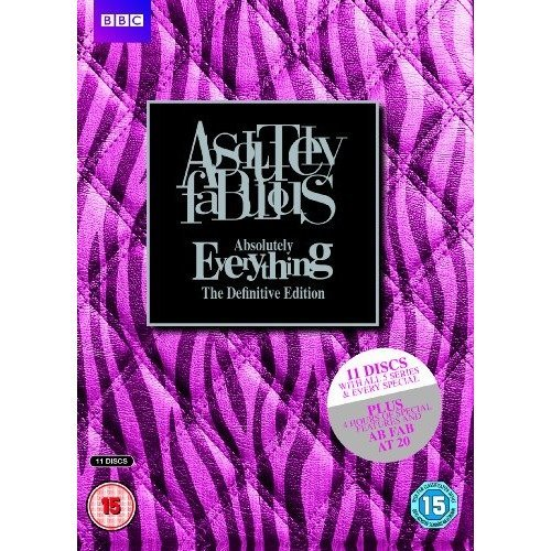 Absolutely Fabulous - Absolutely Everything - The Definitive Edition DVD [2014]