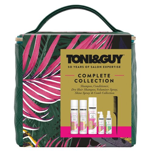 Toni & Guy Volume Collection Cube, Variety Haircare Gift For Women, Girls & Teen