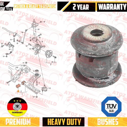 FOR VW PASSAT CC FRONT LOWER SUSPENSION WISHBONE CONTROL ARM BUSH