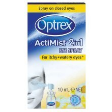Optrex ActiMist 2in1 Eye Spray For Itchy & Watery Eyes 10ml
