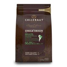 Callebaut Origin, Brazil 66.8% dark chocolate chips