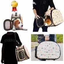 EVA Pet Carrier Bag-Portable Outdoor Foldable Shoulder Travel Pet Bag