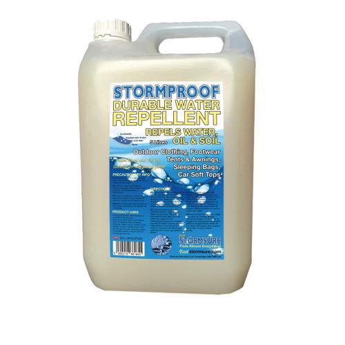 Stormproof Durable Water Repellent 5L Refill