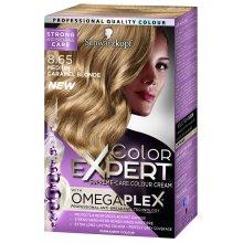 Schwarzkopf Colour Expert Omegaplex Hair Dye, Number 8.65, Medium Caramel Blonde