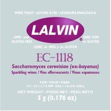 Lalvin EC-1118 Quality Sparkling Wine & Cider Yeast 5g Sachet - Homebrew