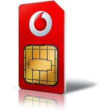 Vodafone PAYG SIM- Include NANO/MICRO & STANDARD SIM - for Iphone 4, 4S, 5, 5S, 5C, 6, 6S, 6+/ GALAXY S3, S4, S5, S6, S6-Edge/ ANY Nokia Device/ANY