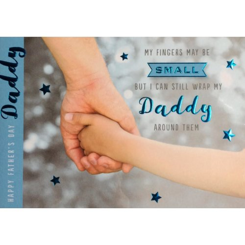 Daddy Father's Day card ~ With lots of love