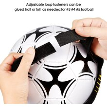 Kuyou Soccer Training Aid for Kids and Adults Hands Free Solo Practice