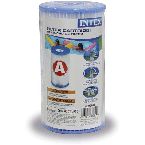 6pk Intex Type A Pool Filter Cartridge