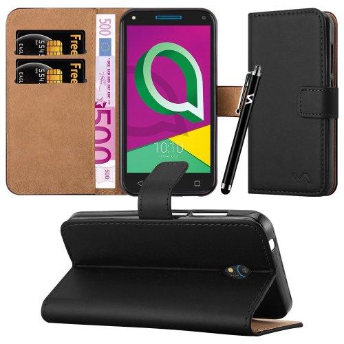 For Alcatel U5 3G (4047X) Leather Wallet Case