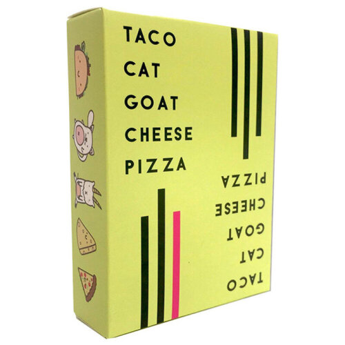 Xmas Taco Cat Goat Cheese Pizza  Board Card Game for Kids & Adults Party Game
