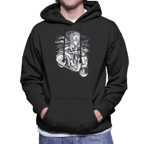 Mad Scientist Scooter Men's Hooded Sweatshirt
