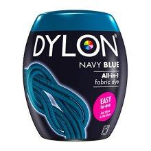 DYLON Washing Machine Fabric Dye Pod for Clothes & Soft Furnishings, 350g âÃà Navy Blue