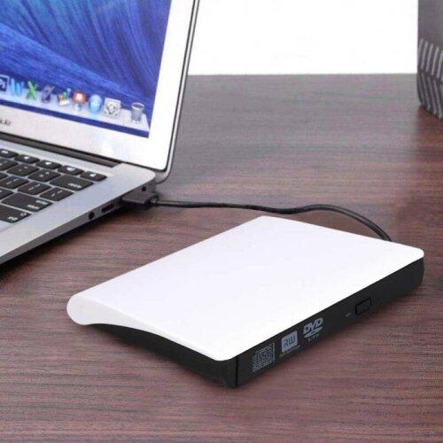USB 3.0 DVD ROM CD Writer Drive Burner Reader Player For Laptop PC