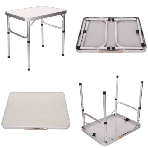 Folding Camping Table Party Kitchen Outdoor Garden BBQ Aluminum