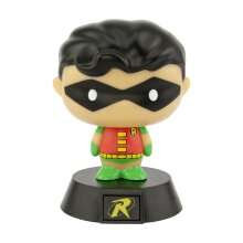 Robin Icon LED Light Mini Night Lamp Super Bright DC Comics Memorabilia