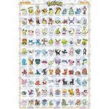 Pokemon Johto Poster