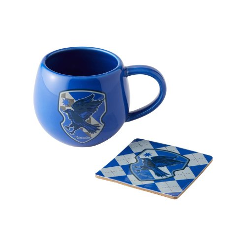 Mug - Harry Potter - RavenClaw Crest w/Coaster 12oz New 6003592