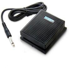 HQRP Foot Switch Sustain Pedal for Alesis SR-16 / SR-18 / SR16 / SR18 Portable Classic Drum Machine Damper Pedal + HQRP Coaster