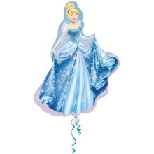 Disney Princess Amscan International Super Shape Cinderella