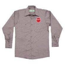 Edelbrock EDL289274 Since 1938 Button-up Long Sleeve Work Shirt - Medium