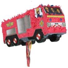 amscan International 9902906 Pinata LicensedPINATA Pull: Fireman Sam