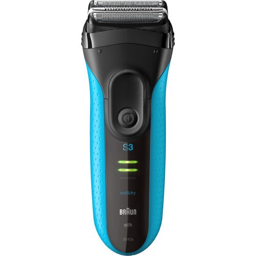Braun Series 3 ProSkin Wet&Dry Rechargeable Electric Shaver, Blue