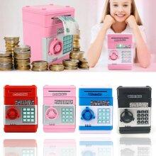 Electronic Piggy Bank Password Safe Money Saving Box Kids