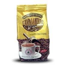 Charalambous Gold Mocca Blend Greek Coffee Traditional Ground 200g