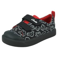 Boys Clarks Disney Collection Casual Shoes City Glove T - G Fit