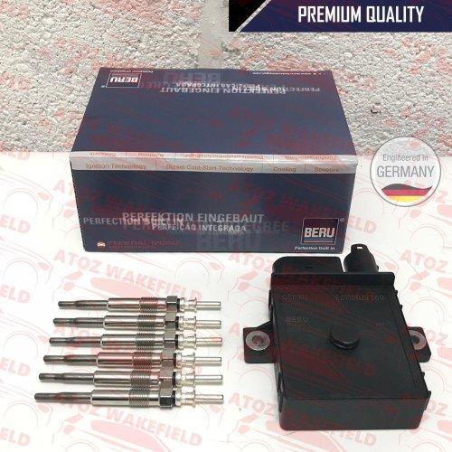 FOR BMW X3 E83 X5 E53 E70 X6 E71 X6 DEISEL GLOW PLUGS BERU CONTROL RELAY