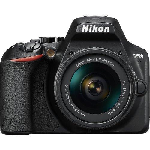 D3500 DSLR Camera with AF-P DX NIKKOR 18-55 mm f/3.5-5.6G Lens
