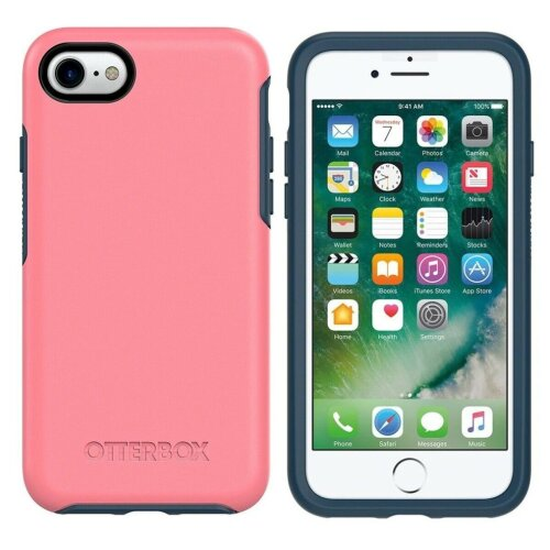 Otterbox symmetry Series Rugged Case Cover For iPhone 8 / 7 / SE (2nd Generation) - Pink