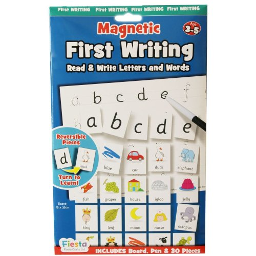 First Writing Magnetic Activity Chart