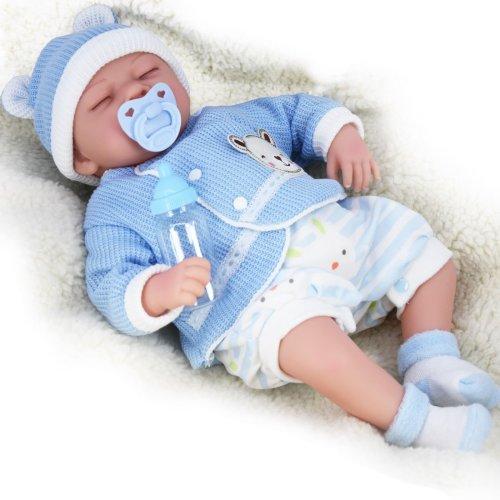 "(Boy) 20"" Lifelike Reborn Baby Doll | Handmade Sleeping Baby Doll"